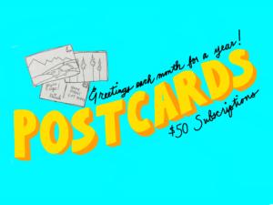 Spark of Joy Postcards
